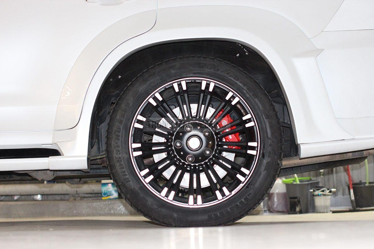 rear axle brake system pic 1