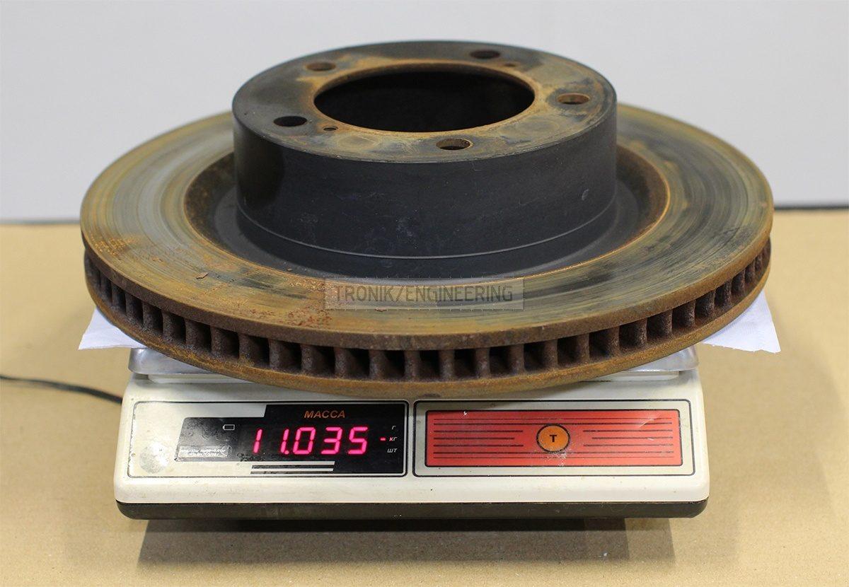 standard front brake rotor