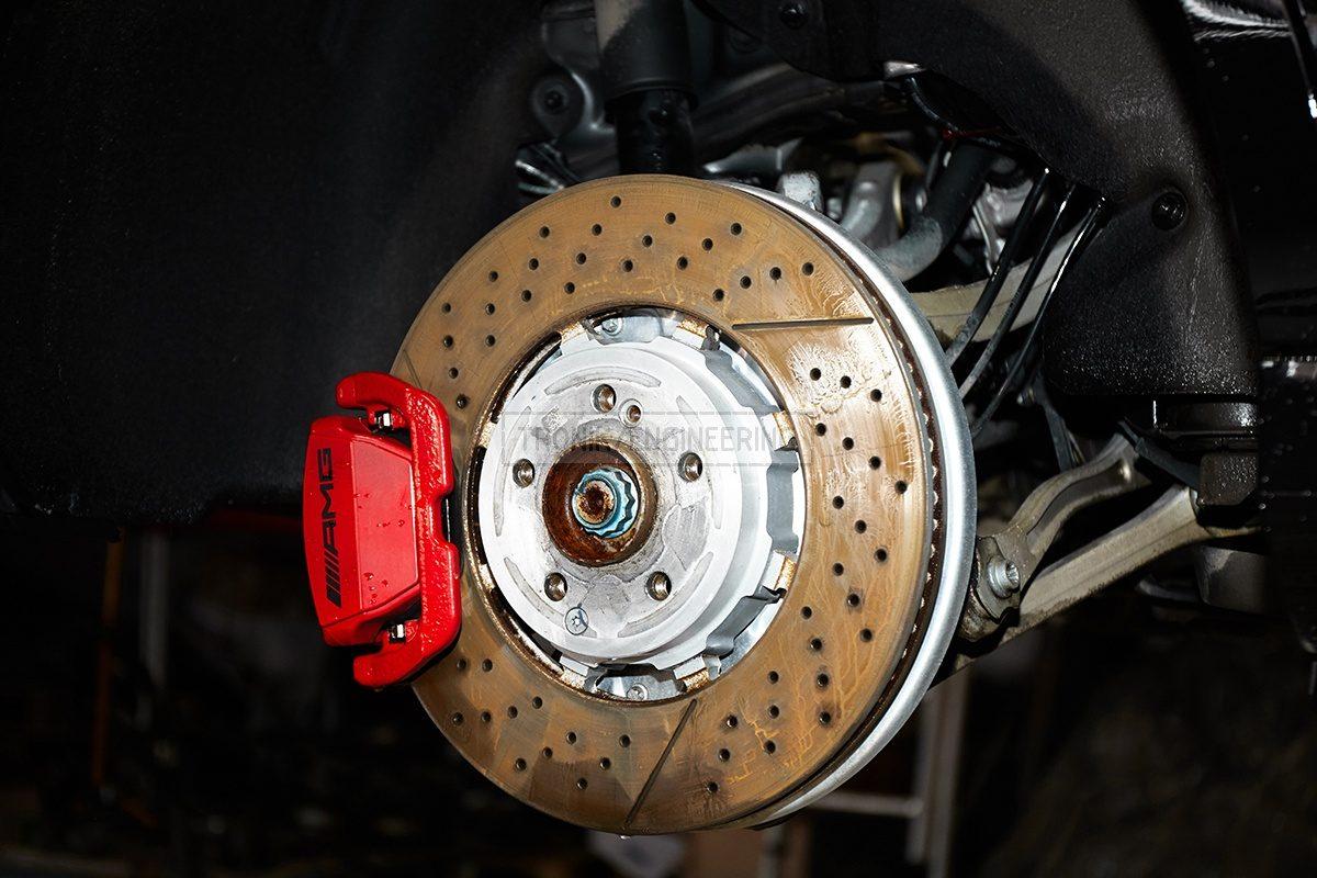 Rear standard brake system Mercedes Benz W213 pic 1