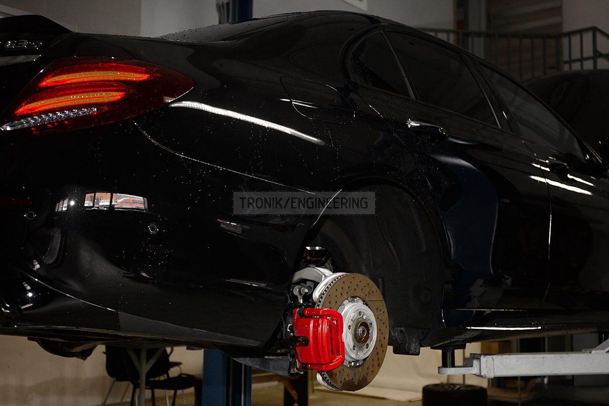 Rear standard brake system Mercedes Benz W213 pic 2