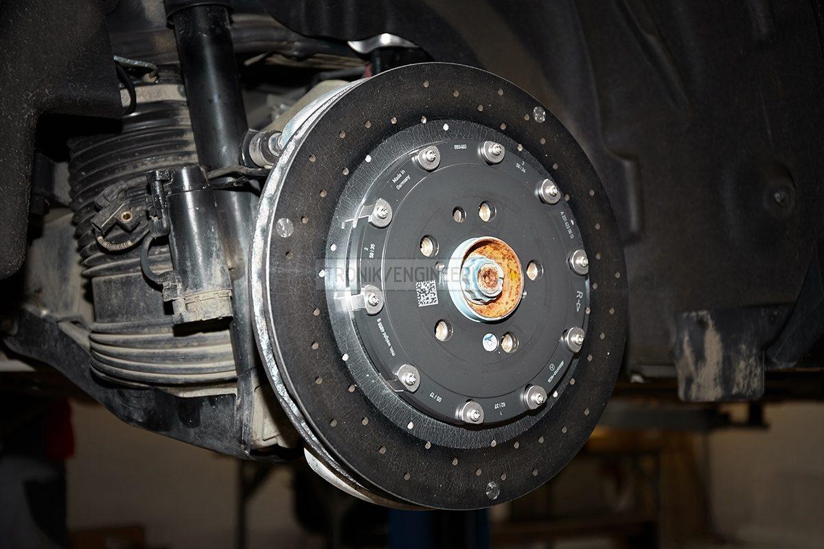 rear carbon ceramic rotor
