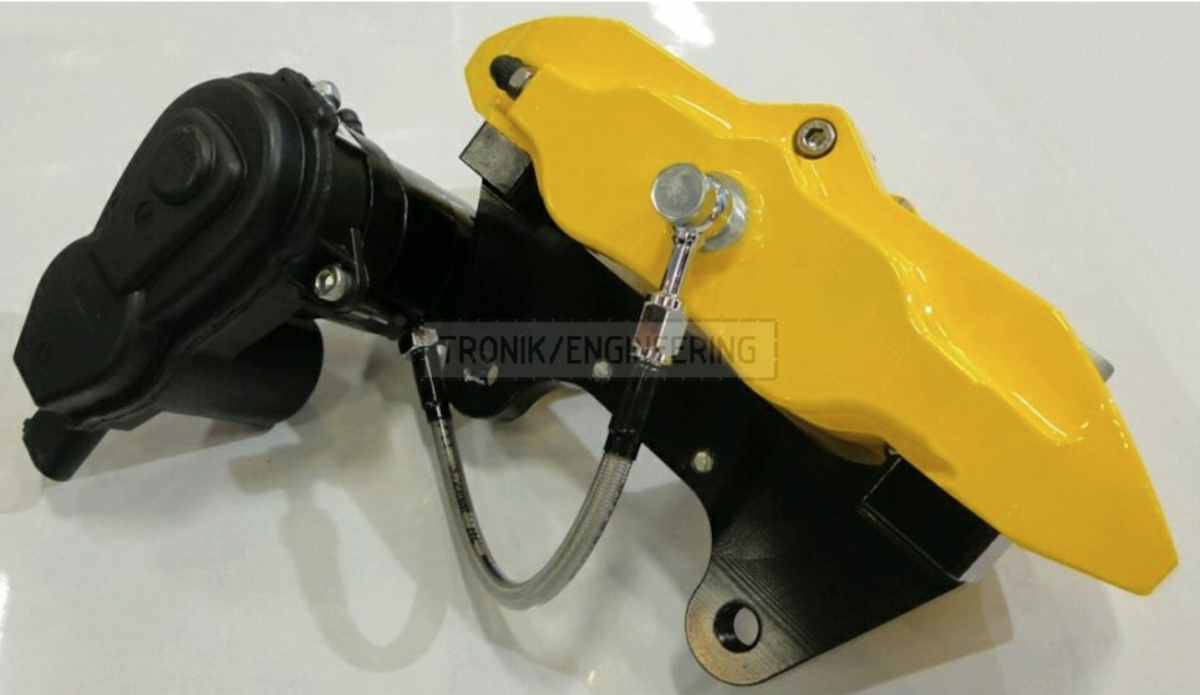 HPB servomotor & rear caliper