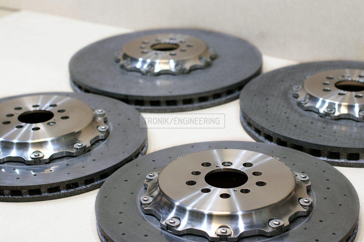 carbon ceramic brake rotors pic 2