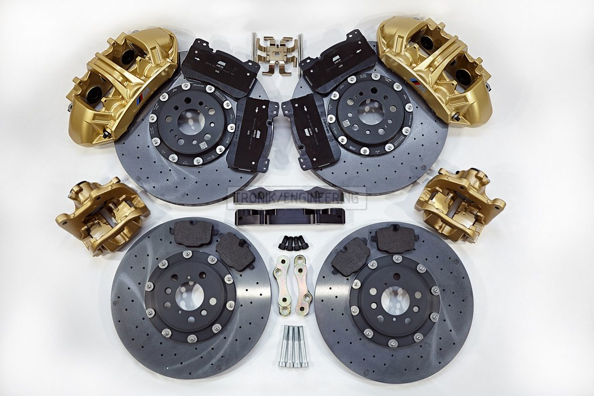 carbon ceramic brake system set BMW G11 pic 1