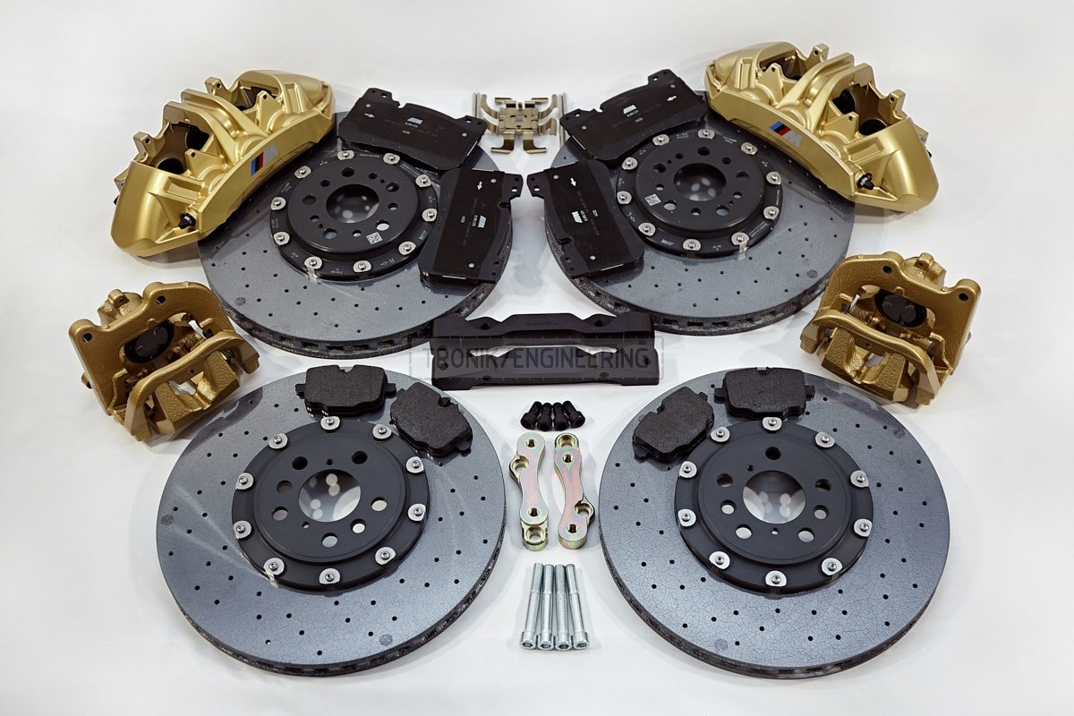 carbon ceramic brake system set BMW G11 pic 10