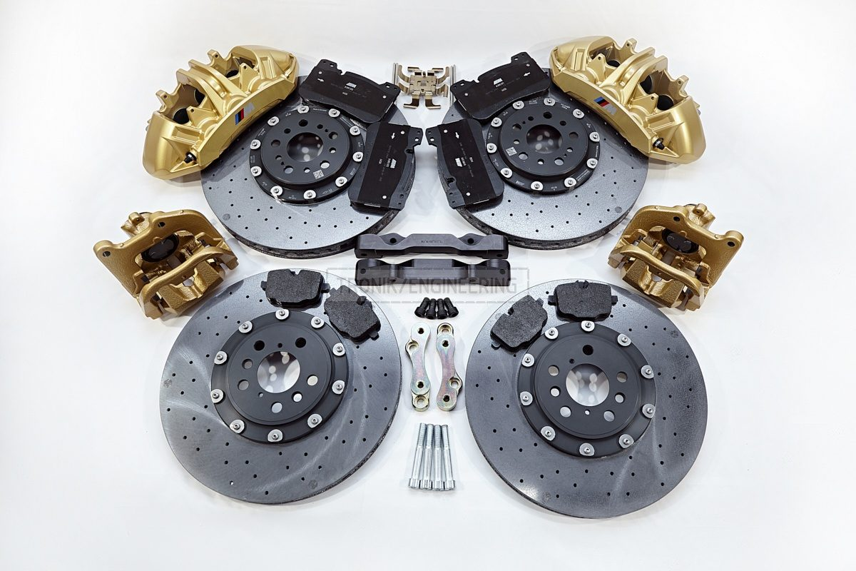 carbon ceramic brake system set BMW G11 pic 11