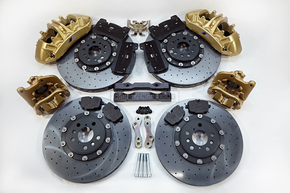 carbon ceramic brake system set BMW G11 pic 2