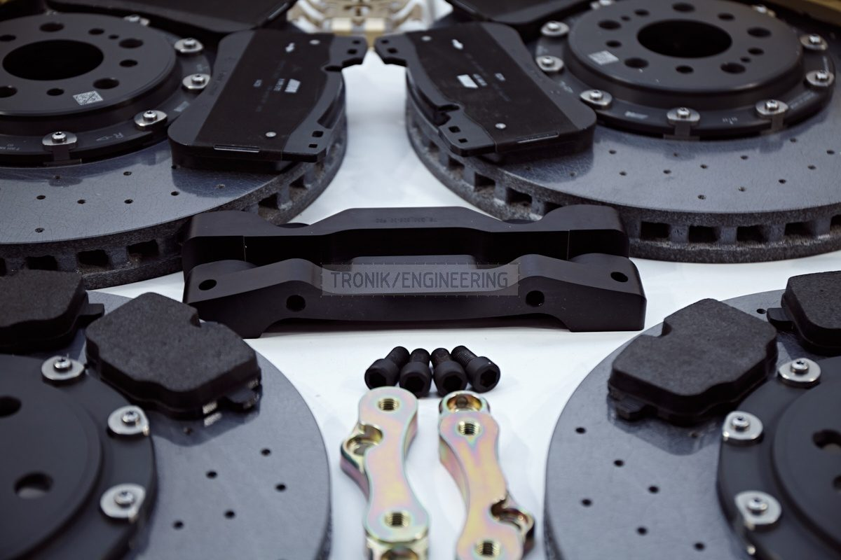 carbon ceramic brake system set BMW G11 pic 3