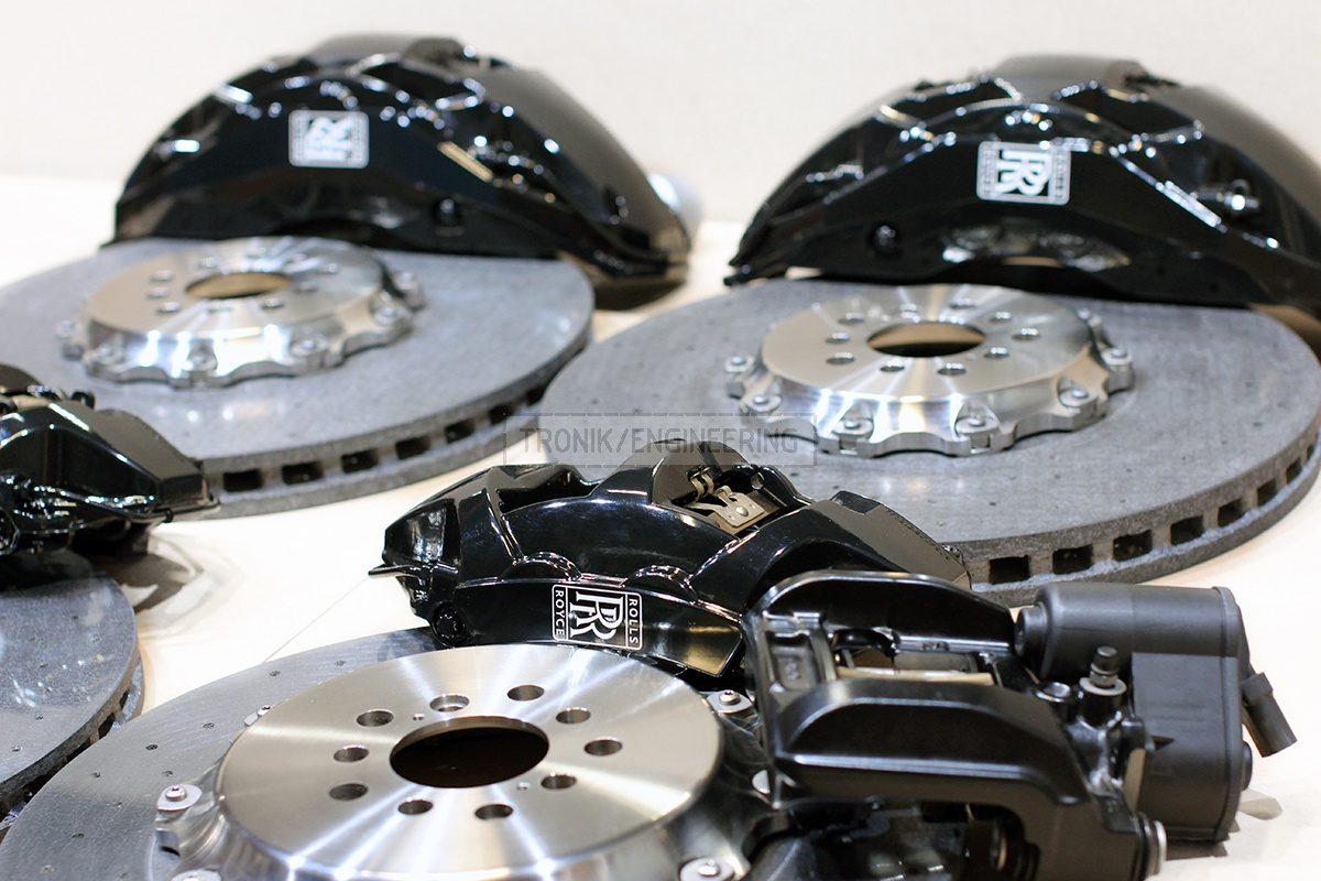 carbon ceramic brake system set pic 3