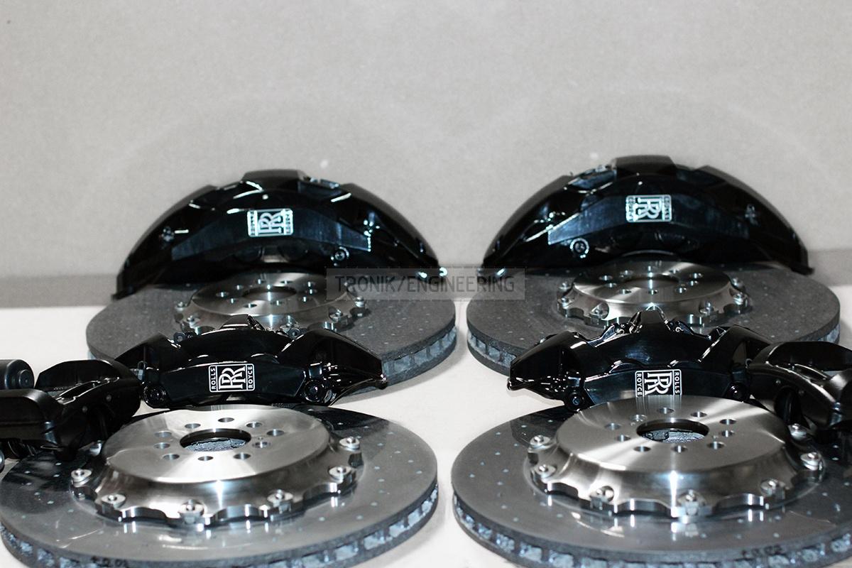 carbon ceramic brake system set pic 4