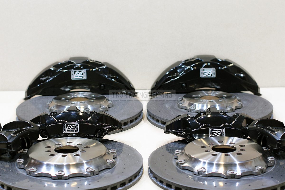 carbon ceramic brake system set pic 5
