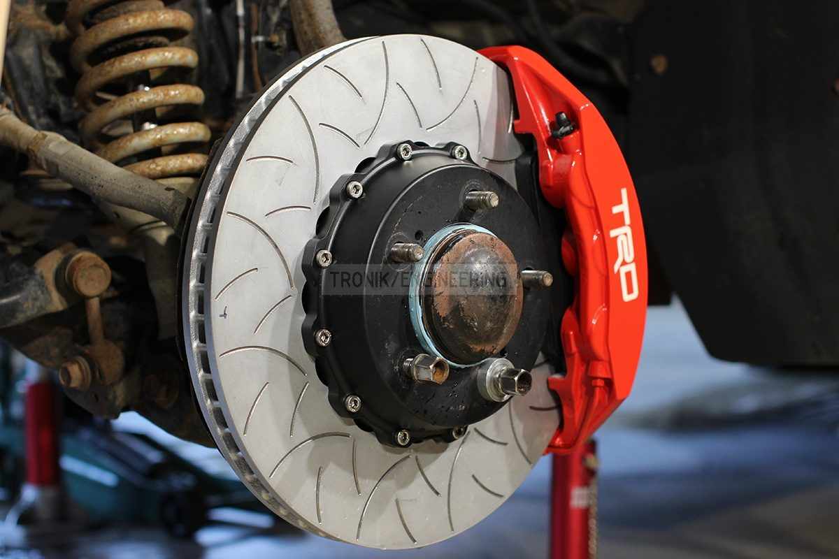 front axle brake system pic 5