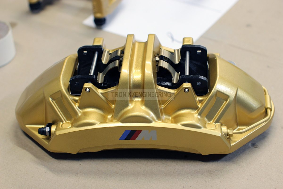 front left caliper with pads