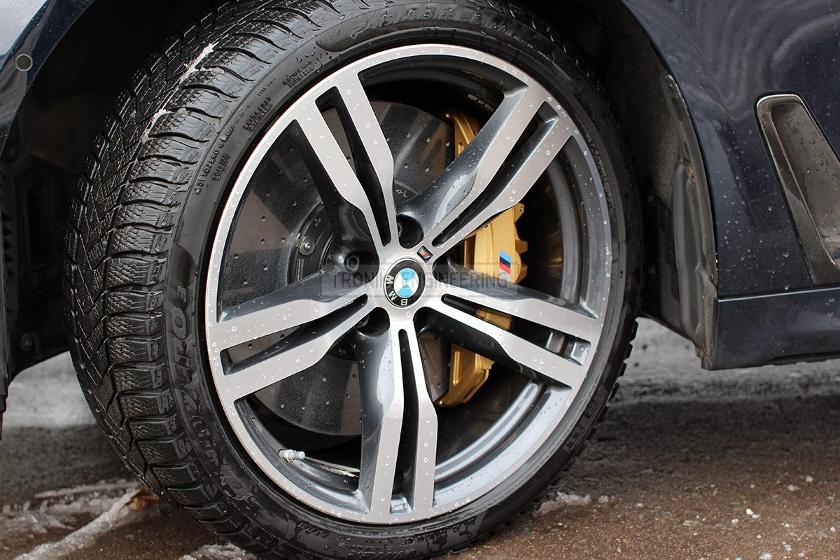 installed brake system BMW G11 pic 7