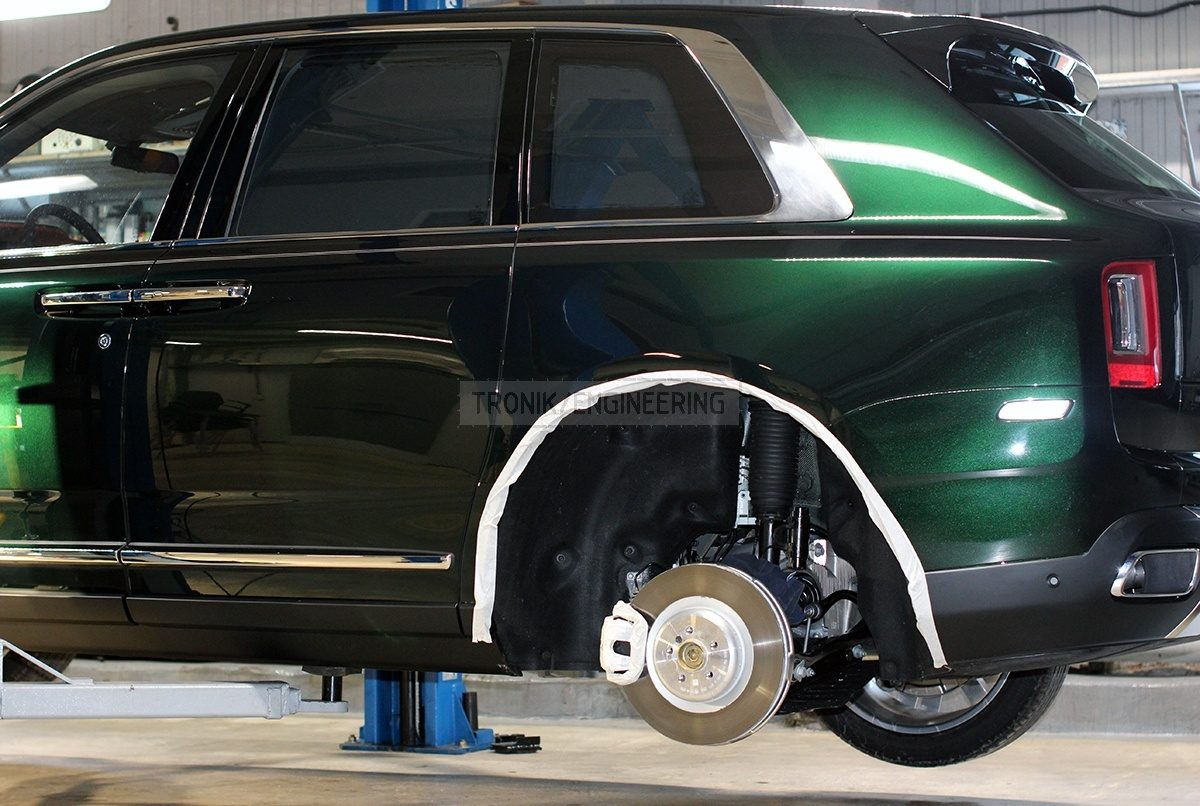 rear axle original brake system