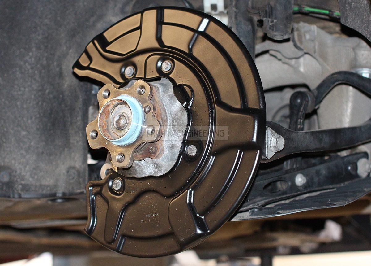 rear brake rotor protector