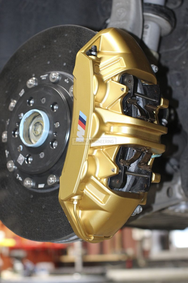 carbon ceramic brake system front axle BMW F90 pic 2