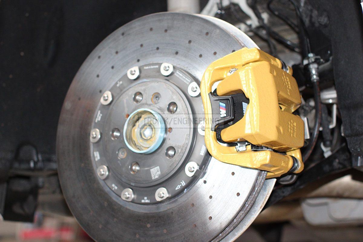 carbon ceramic brake system rear axle BMW F90 pic 1