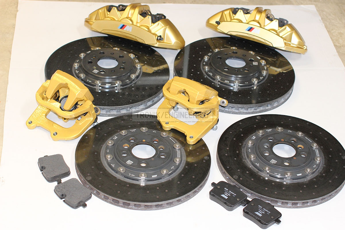 carbon ceramik brake system set BMW F90 pic 1