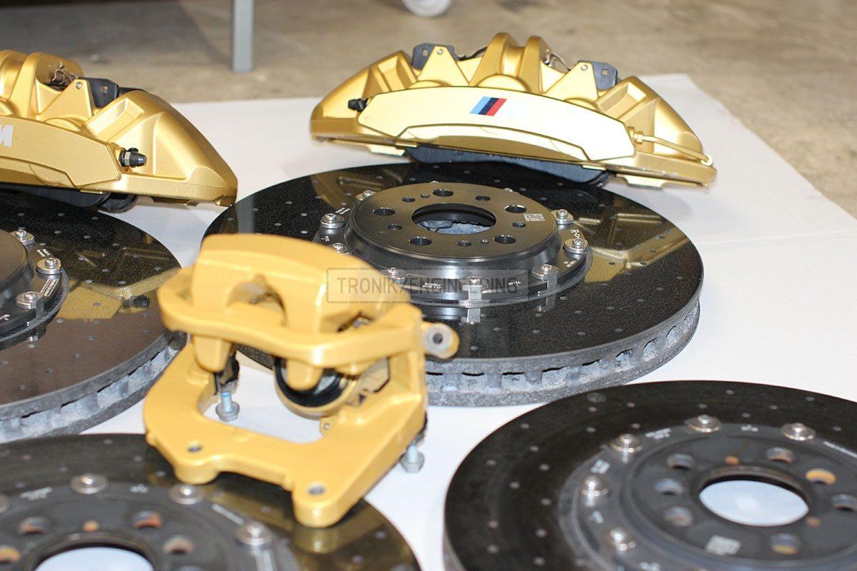 carbon ceramik brake system set BMW F90 pic 2