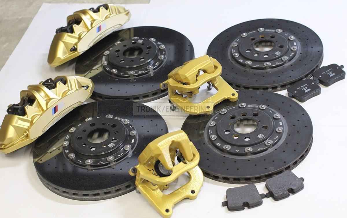 carbon ceramik brake system set BMW F90 pic 5