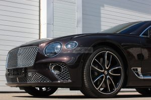 2019 Bentley Continental GT brake system front axle