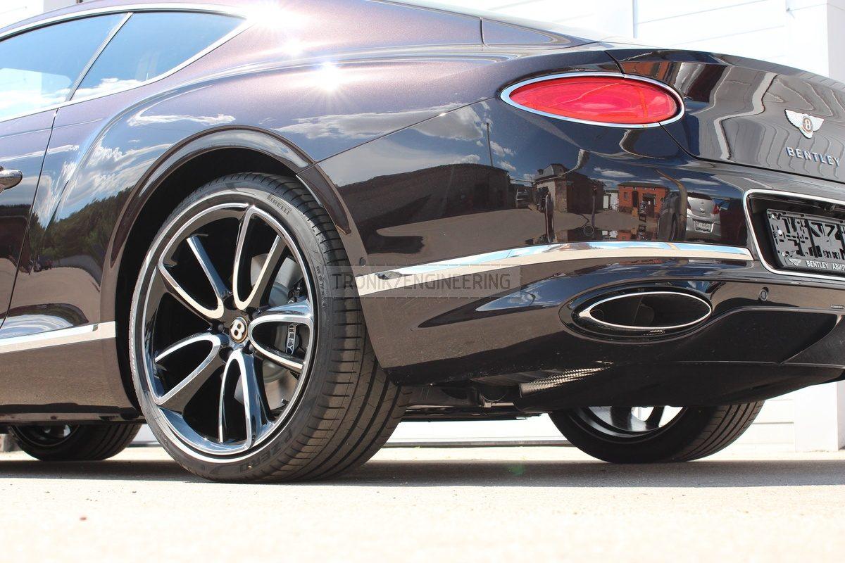 2019 Bentley Continental GT brake system rear axle