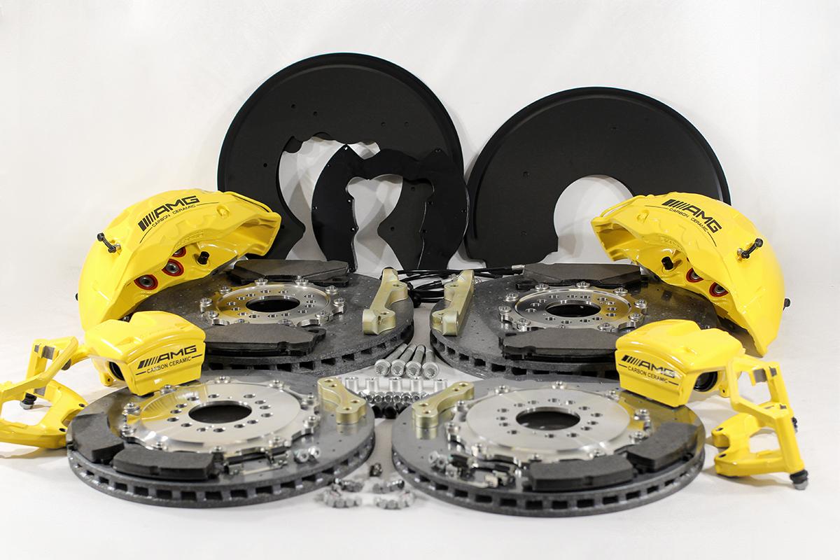 Carbon ceramic brake system for Gelendwagen new model 2018 G63AMG. pic 1