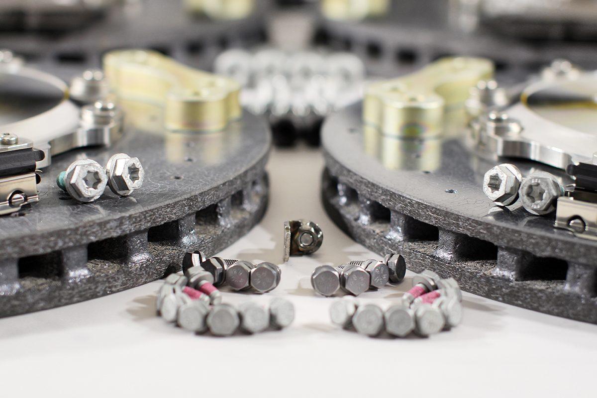 Carbon ceramic brake system for Gelendwagen new model 2018 G63AMG. pic 2