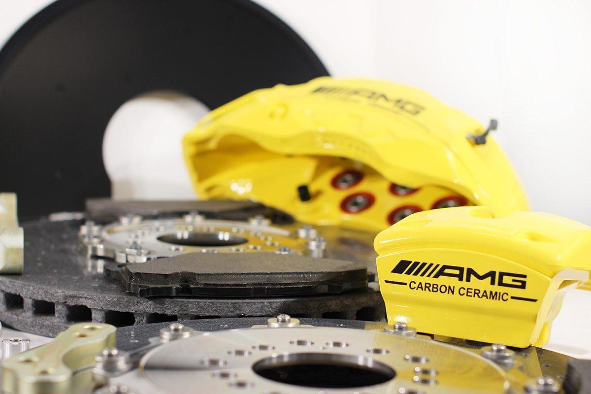 Carbon ceramic brake system for Gelendwagen new model 2018 G63AMG. pic 3