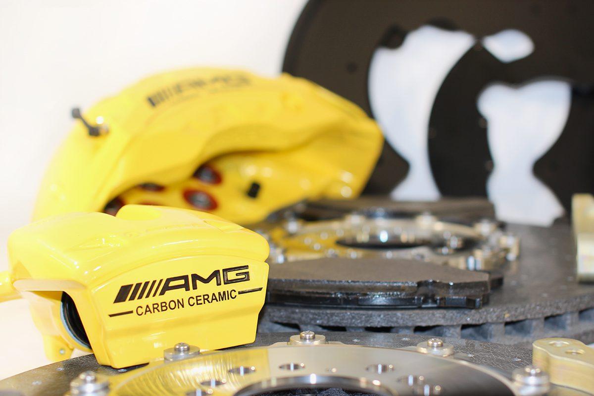 Carbon ceramic brake system for Gelendwagen new model 2018 G63AMG. pic 4