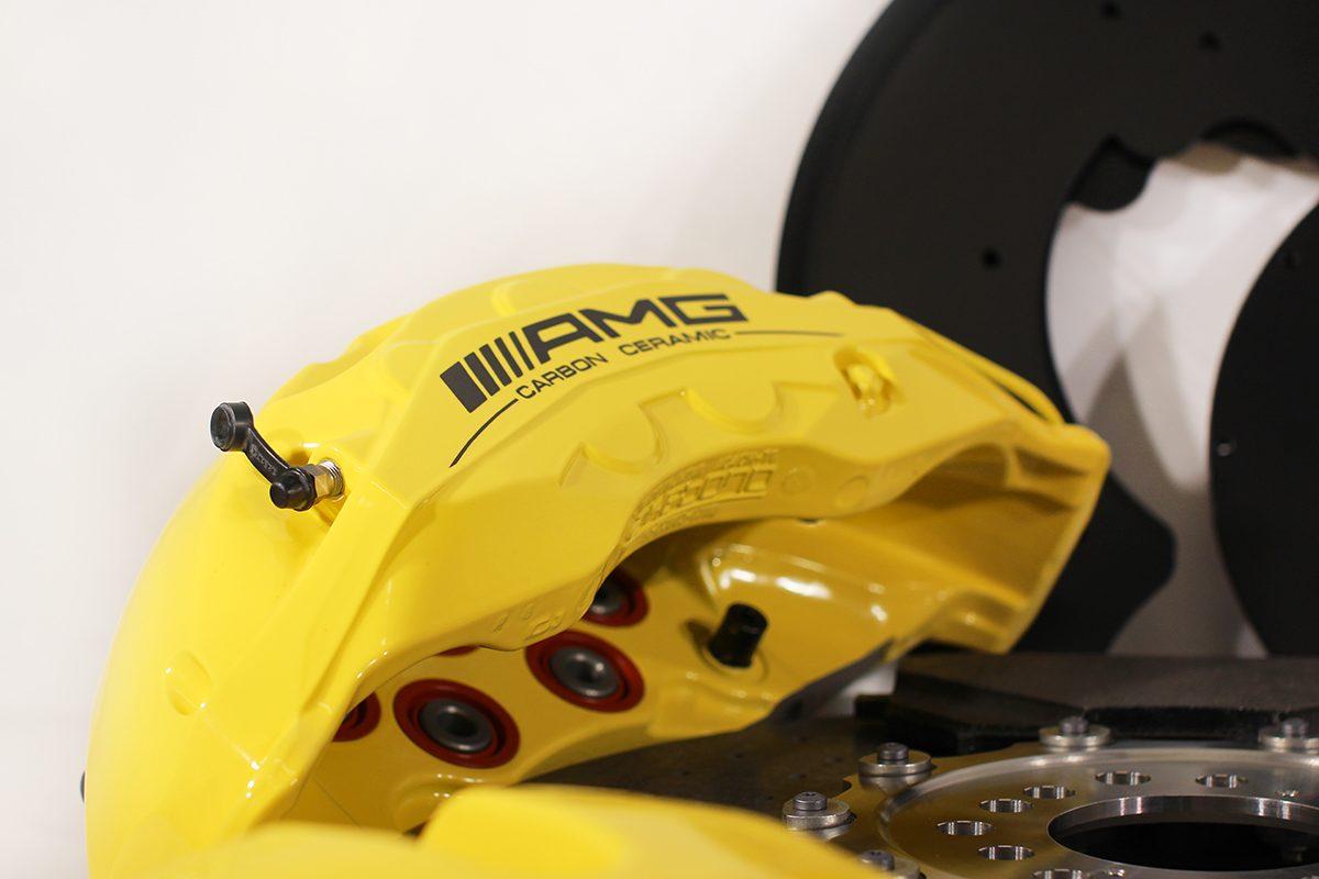Carbon ceramic brake system for Gelendwagen new model 2018 G63AMG. pic 5