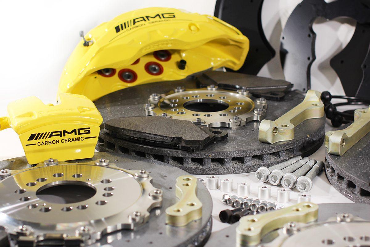 Carbon ceramic brake system for Gelendwagen new model 2018 G63AMG. pic 6