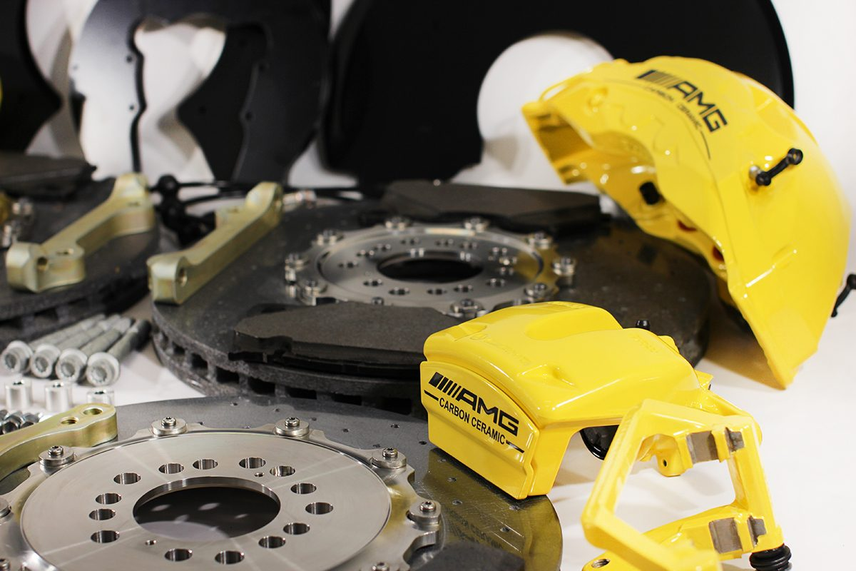 Carbon ceramic brake system for Gelendwagen new model 2018 G63AMG. pic 7