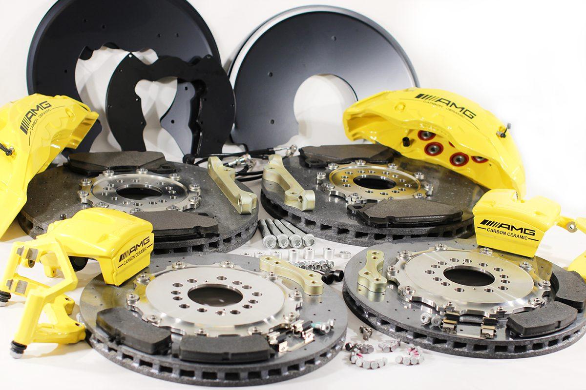 Carbon ceramic brake system for Gelendwagen new model 2018 G63AMG. pic 8