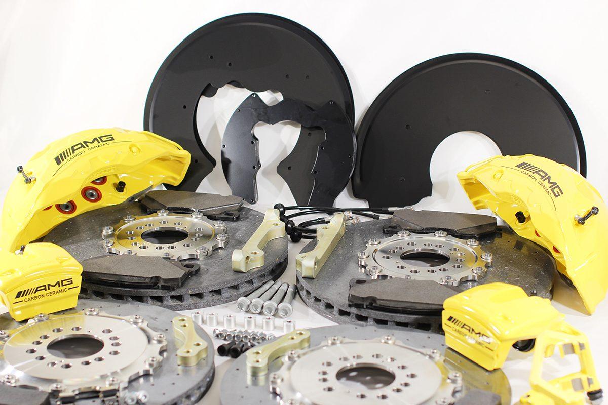 Carbon ceramic brake system for Gelendwagen new model 2018 G63AMG. pic 10