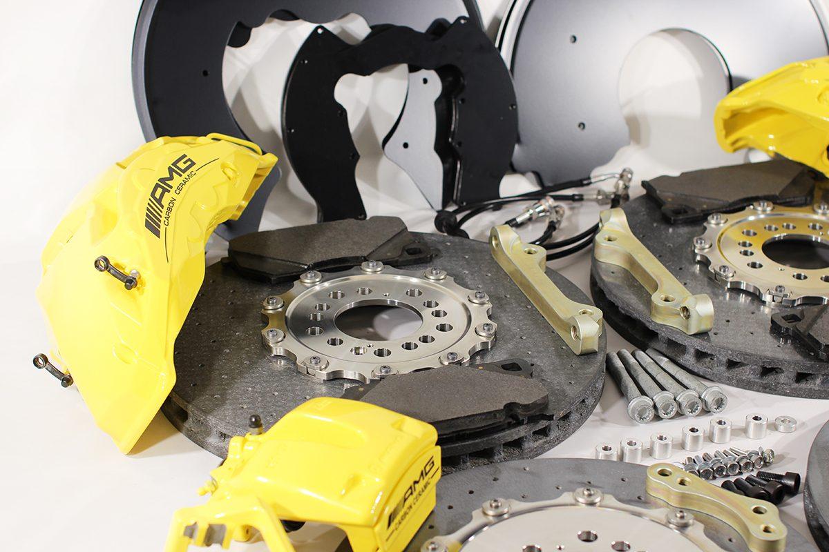 Carbon ceramic brake system for Gelendwagen new model 2018 G63AMG. pic 11