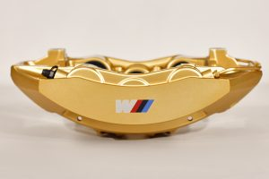 34 11 7 850 464 Gold front right caliper