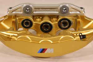 34 11 7 850 463 Gold front right caliper
