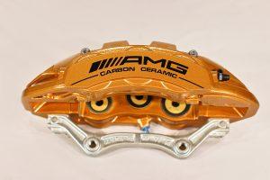 A222 421 56 98 AMG front right carbon ceramic caliper