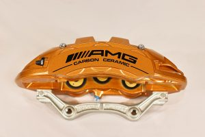 A222 421 55 98 AMG front right carbon ceramic caliper