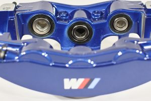 34 11 7 852 968, front blue bmw caliper, right