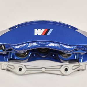 34 11 7 852 967, front blue bmw caliper, left