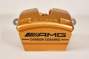 A231 423 11 81, rear carbo ceramic mercedes amg caliper, left