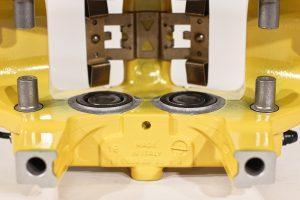 9Y0 615 423 R, Rear carbon ceramic left caliper Porsche Cayenne 9Y0