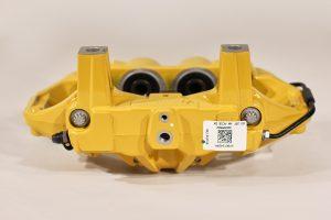 9Y0 615 424 R, Rear carbon ceramic right caliper Porsche Cayenne 9Y0