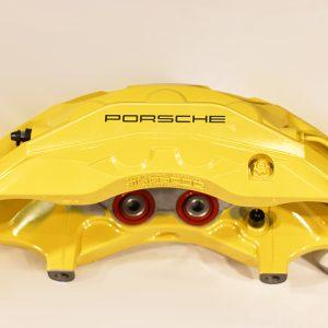 9Y0 615 123 AC, Front carbon ceramic left caliper Porsche Cayenne 9Y0