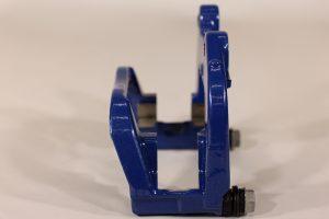 34 20 6 882 990, BMW F90 rear сaliper carrier blue, right