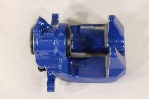 34 20 6 882 997, BMW F90 rear brake caliper housing blue, left