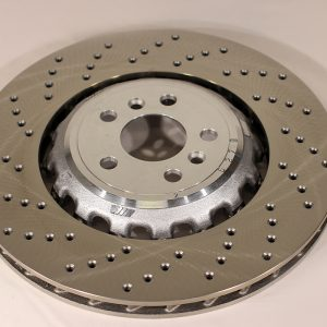 34 21 7 991 103,BMW M5 F90 rear brake disc, ventilated, perforated, left